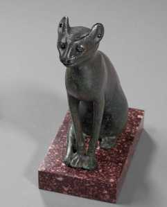 Egyptian cat sarcophagus