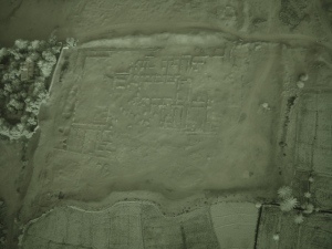 Photograph of the Palace with infrared filter