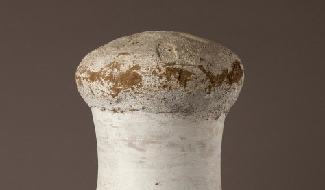 Sealed jar (detail). Gift of Theodore M. Davis, 1911 (11.155.7)