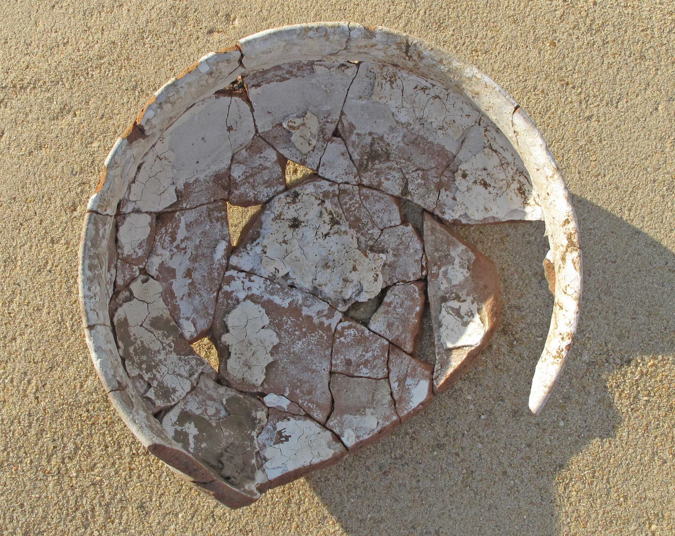 A bowl of plaster imalqata for Red top gypsum plaster